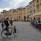 The oval square of Lucca